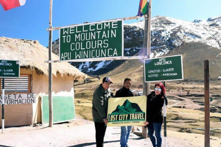Montaña de siete colores, Cusco Perú